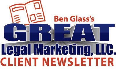 Great Legal Marketing Newsletter